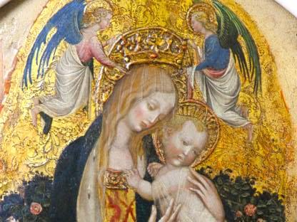 La «Madonna della Quaglia» di Pisanello