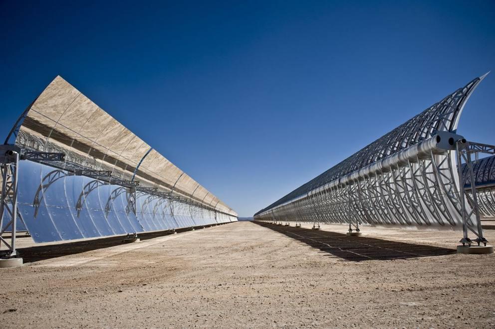 Pannello Solare Termodinamico A Concentrazione : Marocco la centrale solare a concentrazione noor i