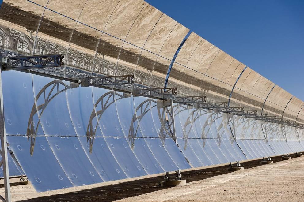 Marocco la centrale solare a concentrazione noor i - Centrale solare a specchi ...