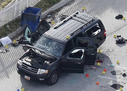 California, spari tra la folla a San Bernardino