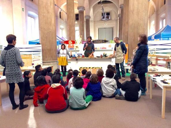 Piccoli artigiani per un giorno a milano i bambini for Piccoli piani artistici per artigiani