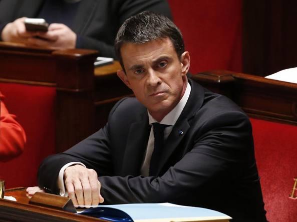 Il primo ministro francese Manuel Valls (Afp/Kovarik)