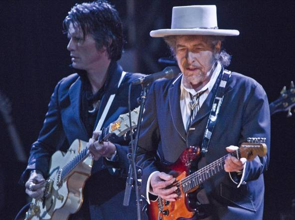 Bob Dylan nel 2011 (Ap)