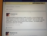 Il post «incriminato» (Facebook)
