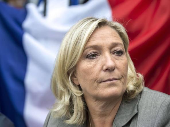 Marine Le Pen, leader del Front National (Afp)