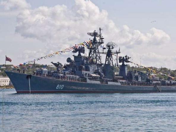 Il cacciatorpediniere russo �Smetlivy�