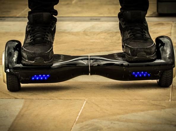Una foto generica di hoverboard