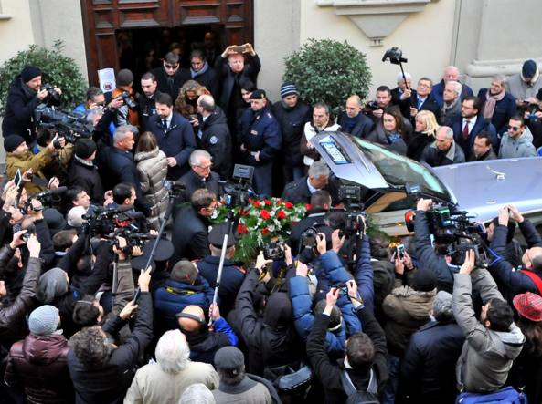 I funerali di Gelli (Fotogramma)