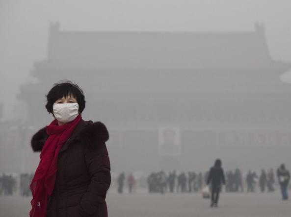 Nuovo allarme rosso a Pechino per l'inquinamento (Getty Images)