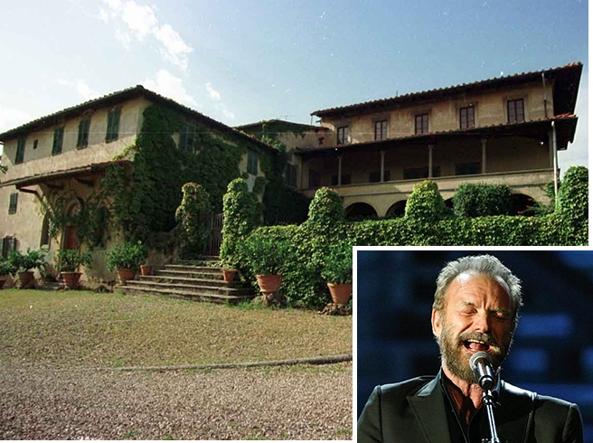 La residenza di Sting in Toscana