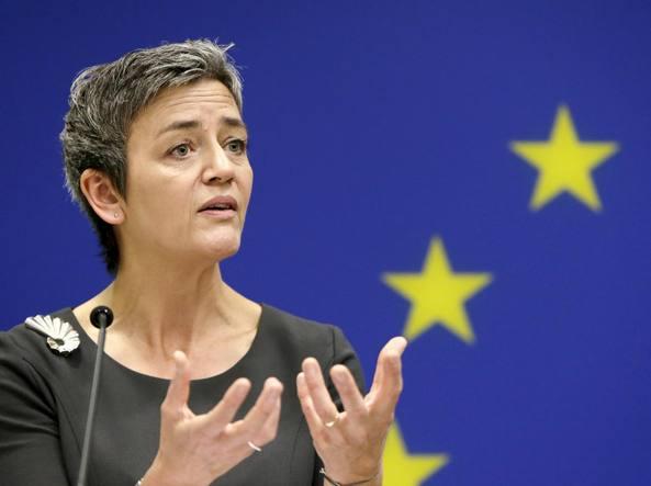Il commissario Ue  Margarethe Vestager