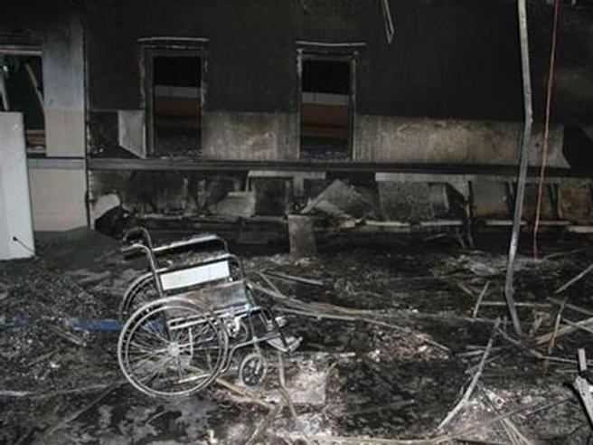 Arabia, incendio in ospedale:  almeno 31 morti Immagini