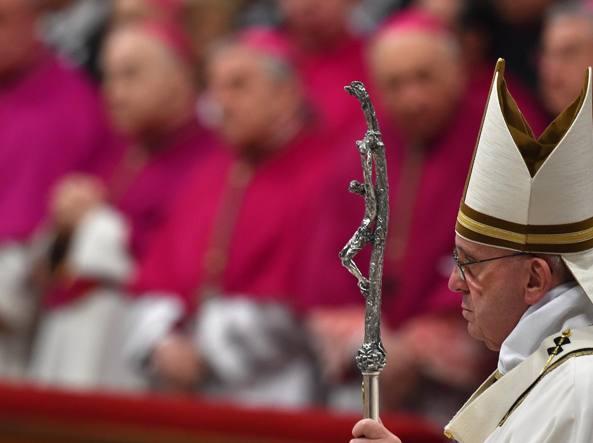 Papa Bergoglio (Afp)