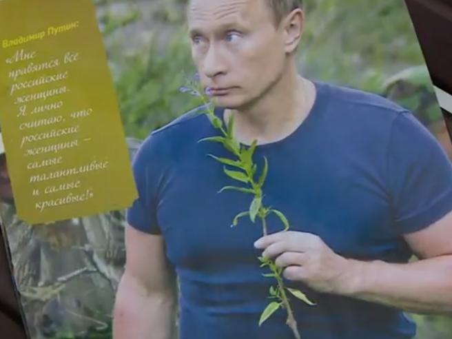 Muscoli, sport (ma anche tenerezza): il calendario 2016 di Putin