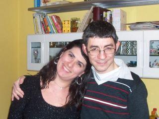 Angela Nesta con il marito Francesco (Foto da Facebook)