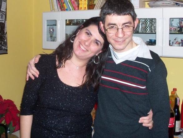 Angela Nesta, 39 anni con il compagno Francesco Scarlata