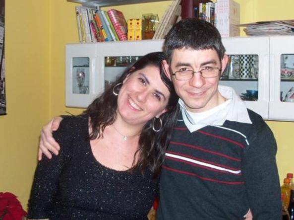 Angela Nesta con il marito Francesco