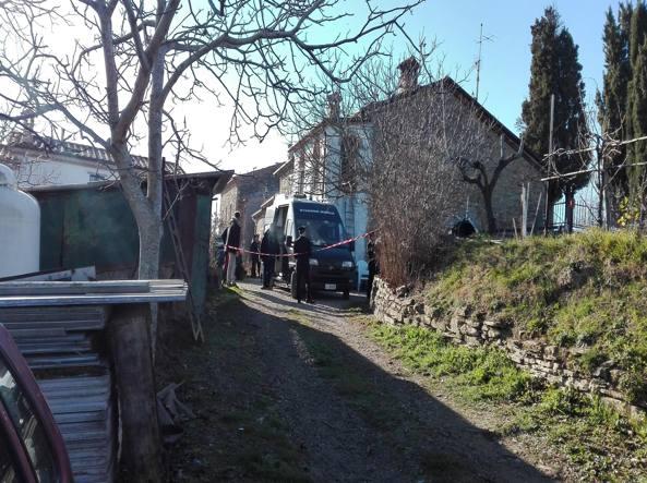 La casa dove è morta Anna Maria Cenciarini (Ansa/Sebastiani)