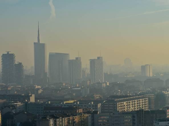 Milano, Porta Nuova (Fotogramma)