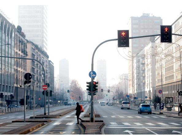 Milano  martedì 29 dicembre (Ansa)
