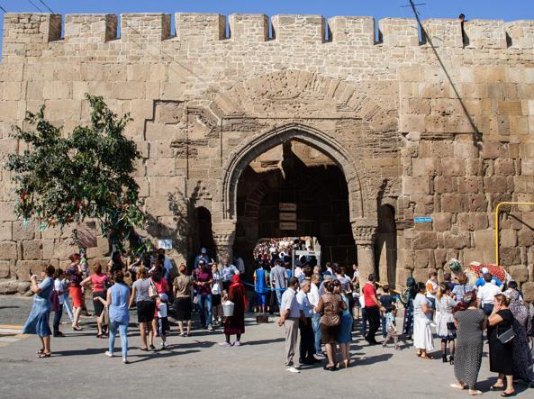 La fortezza di Derbent (Afp)