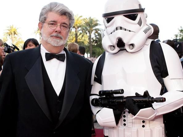 George Lucas al festival di Cannes del 2005
