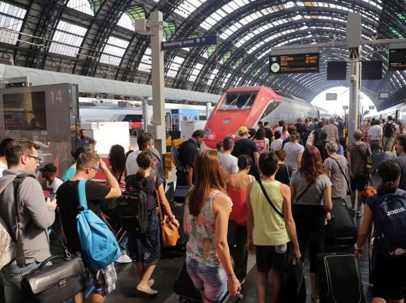 Milano Centrale: al via per l'esodo estivo (Gasport)