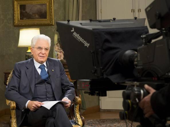 Il presidente della Repubblica Sergio Mattarella (Ansa)