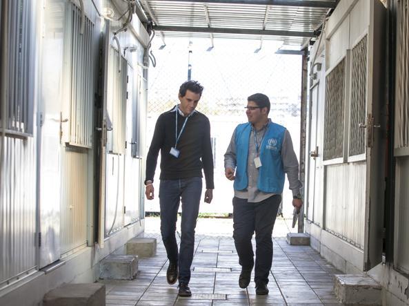 Le foto di questo reportage sono state scattate da Jorge Matas per UNHCR.