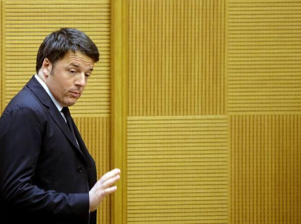 Il presidente del Consiglio Mattero Renzi (Afp/Monteforte)