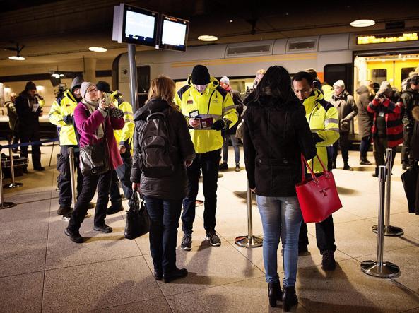 Svezia, i controlli alla frontiera
