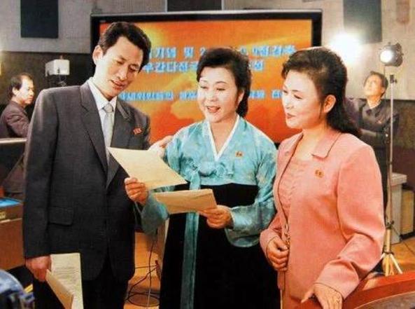 Ri Chun-hee, al centro, in una foto d'archivio