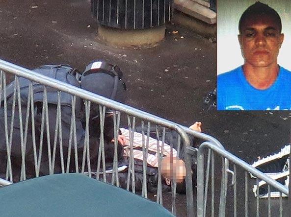 Le foto dell'autore dell'attacco al commissariato di Parigi (da BfmTv)