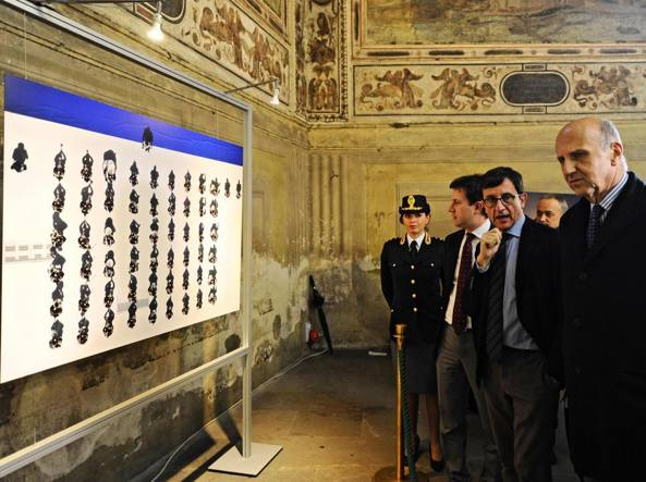 Alessandro Pansa a Palazzo Vecchio (Ansa)