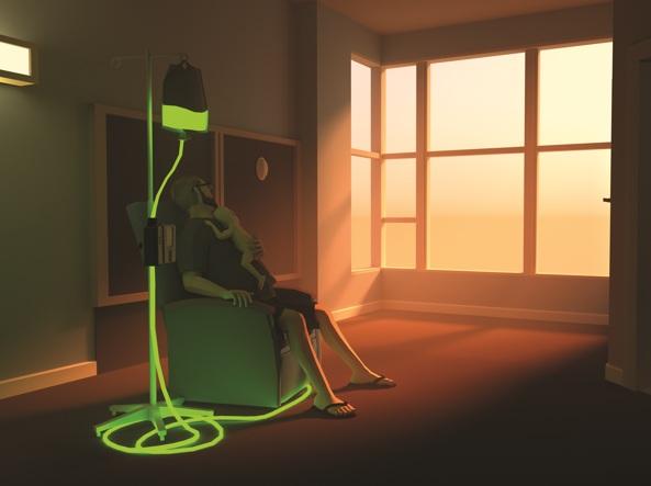 Un'immagine del videogioco «That Dragon, Cancer»