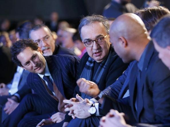 John Elkann e Sergio Marchionne (Reuters)