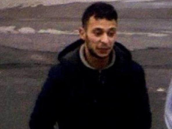 Salah appena arrivato nell'area di servizio dopo la strage