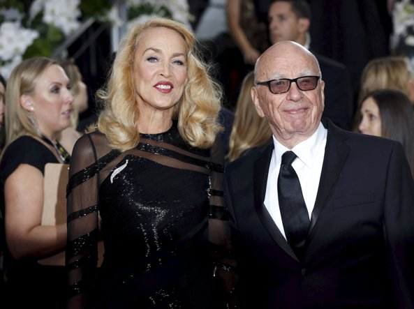Jerry Hall e  Rupert Murdoch (Reuters)