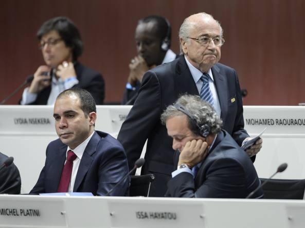 Blatter e  Platini (Afp/Coffrini)