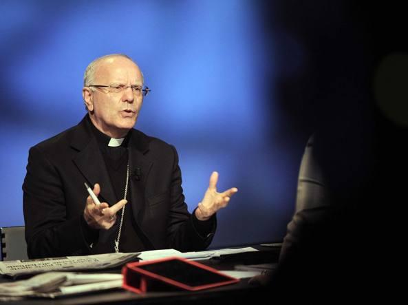 Il segretario generale della Conferenza Episcopale Italiana Nunzio Galantino (LaPresse/Cimaglia)