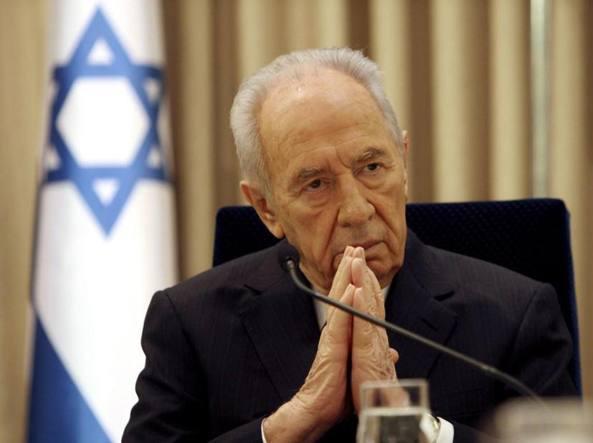 Shimon Peres (Archivio Corriere)