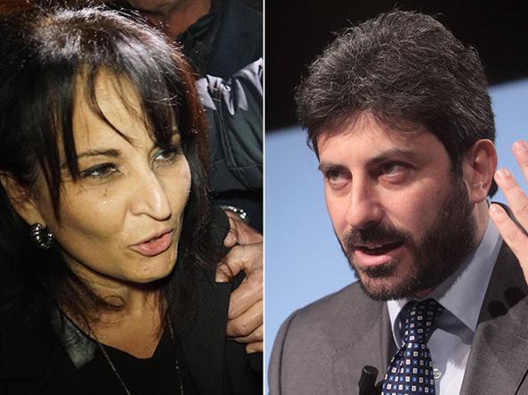 Rosa Capuozzo e Roberto Fico