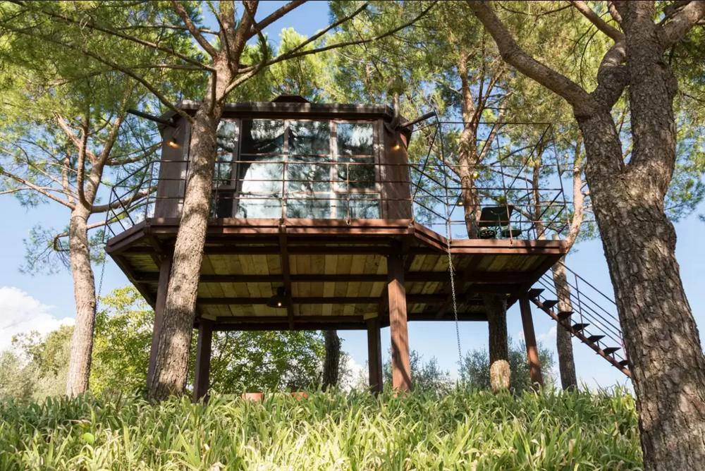 Case sull albero e ville come conchiglie la top ten da sogno di airbnb e ci sono anche 3 - Casa sull albero airbnb ...