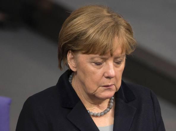La cancelliera tedesca Angela Merkel (Afp/Schmidt)