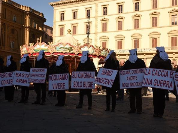 La manifestazione ambientalista di Firenze