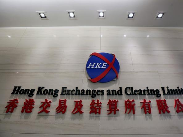 La borsa di Hong Kong (Reuters)