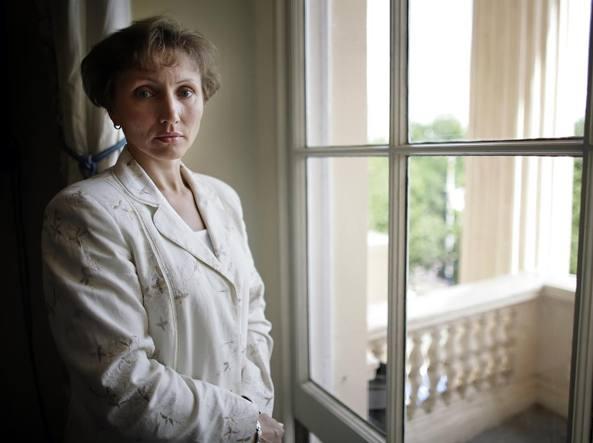 Marina Litvinenko, vedova dell'ex agente segreto russo  ucciso con il polonio