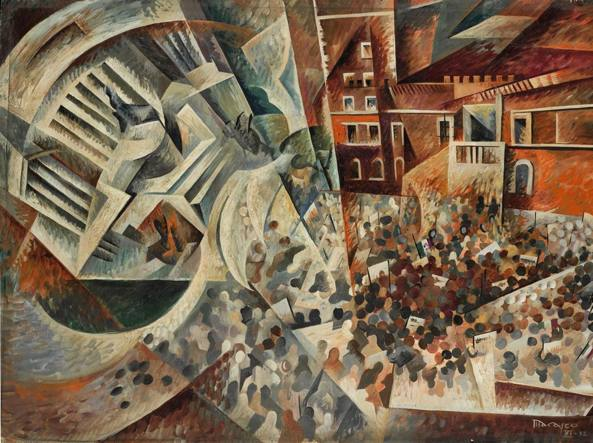 Antonio Marasco (1896-1975), «Adunata a Piazza Venezia» (1932)