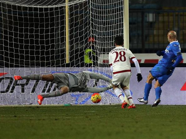 Il gol del 2-2 di Maccarone (Getty Images/Maltinti)