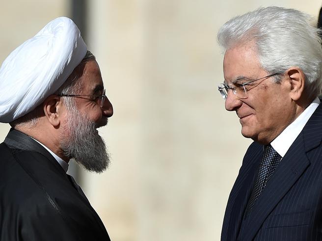 Rouhani in Italia, Renzi: lavorare insieme, a partire dalla Siria